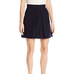 The Fifth Label Mini Skirt Pleated Skirt Navy NWT